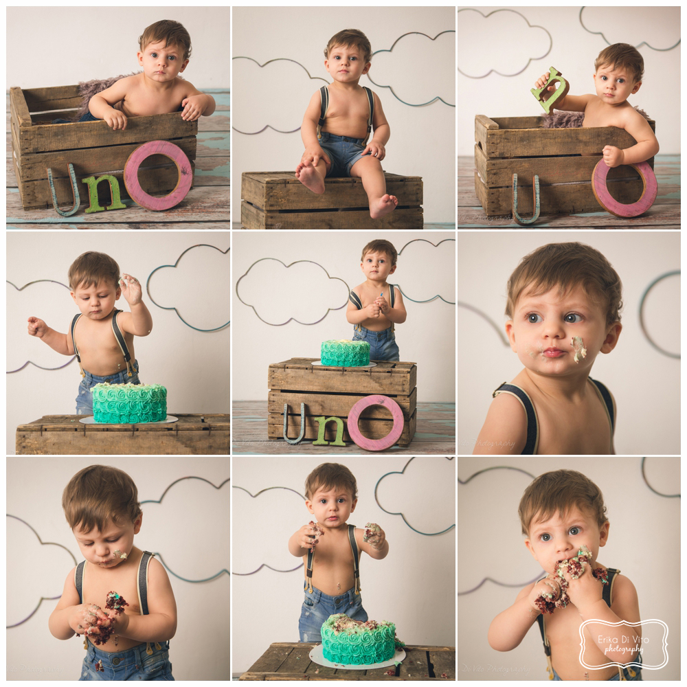 smash the cake fotografo